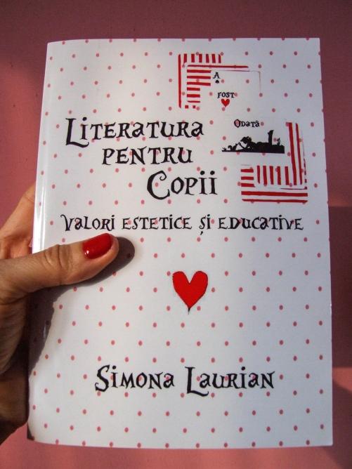 Simona Laurian - Literatura pentru copii. Book Cover by Cristina Schek