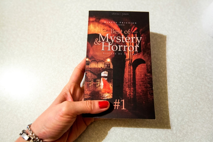Best of Mystery & Horror Anthology, edited by Mircea Pricajan, cover design Cristina Schek (1)