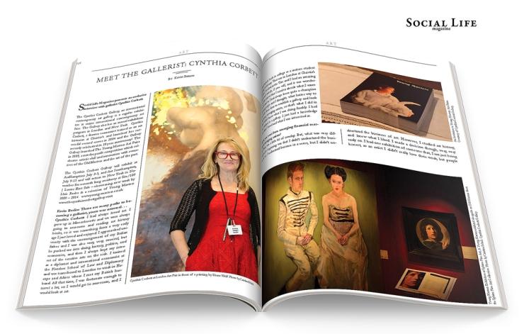 Cynthia Corbett - Social Life Magazine, photos by Cristina Schek