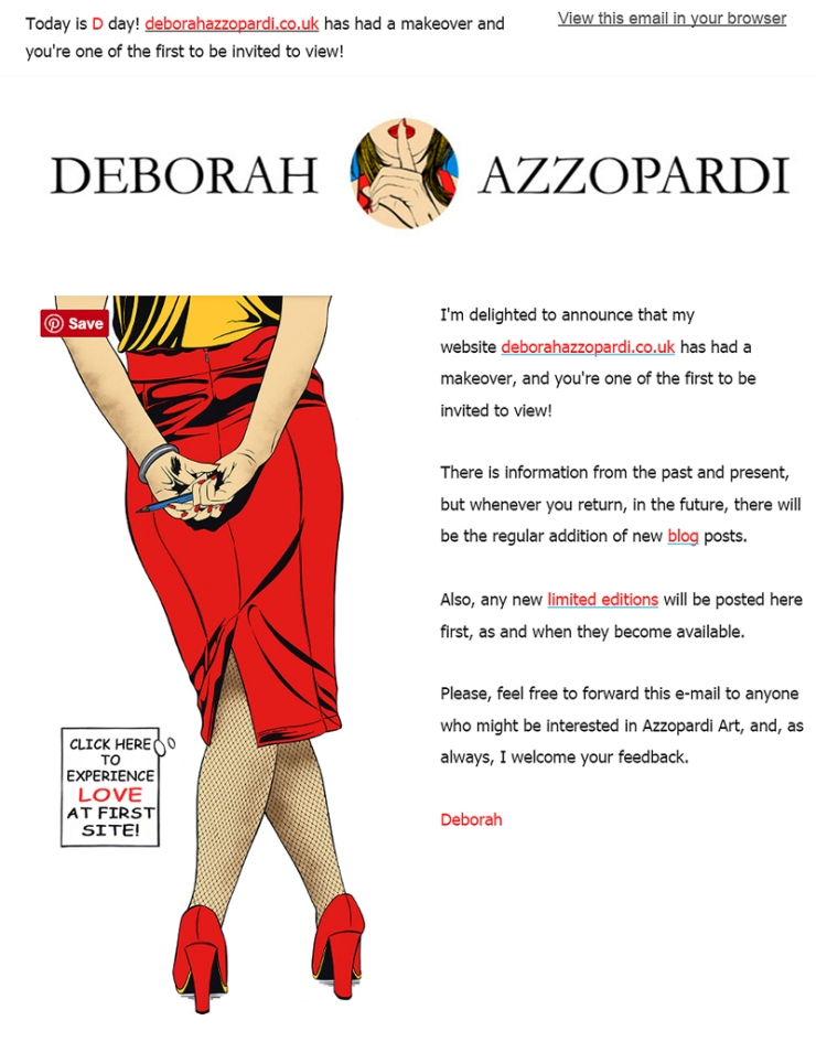 Deborah Azzopardi, Newsletter Design by Cristina Schek