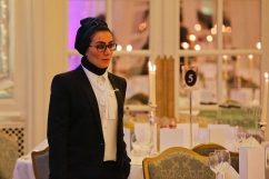 Amina Al Hawaj, winner of the Diamond Award. Appointed Ambassador of Invention in 2013. Photography © Cristina Schek
