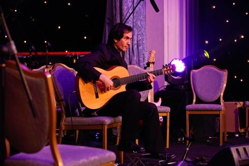 Hugh Burns performing at The British Invention Show - Awards Gala | Photography © Cristina Schek