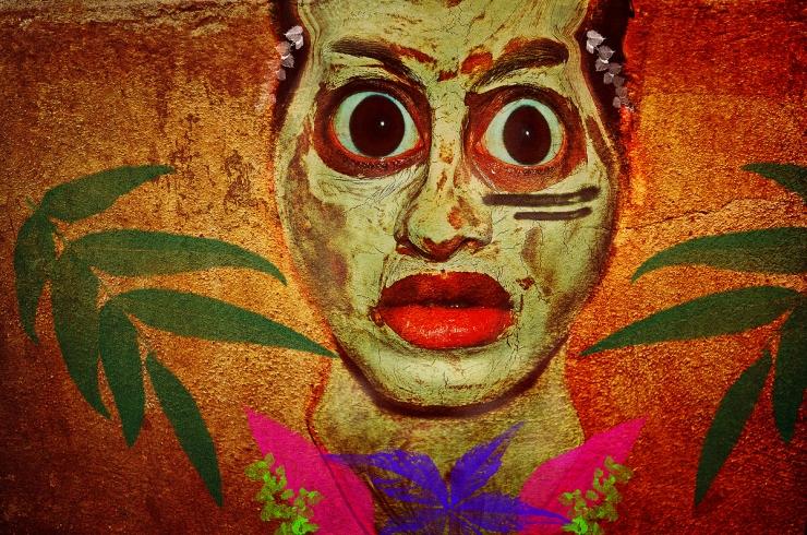 Aboriginal Friday, Surreal Portrait by Cristina Schek