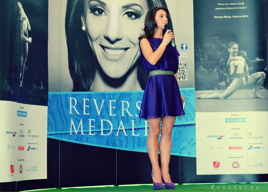Andreea Raducan - The Other Side Of the Medal Book Launch, photo by Cristina Schek (1)