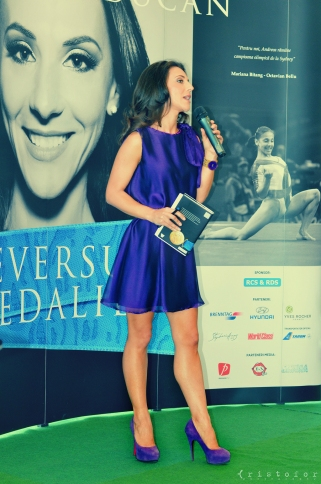 Andreea Raducan - The Other Side Of the Medal Book Launch, photo by Cristina Schek (11)