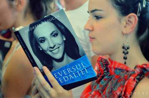 Andreea Raducan - The Other Side Of the Medal Book Launch, photo by Cristina Schek (2)