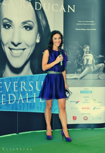 Andreea Raducan - The Other Side Of the Medal Book Launch, photo by Cristina Schek (26)