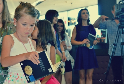 Andreea Raducan - The Other Side Of the Medal Book Launch, photo by Cristina Schek (9)