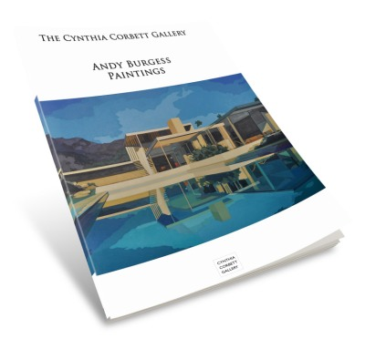 Andy Burgess Catalogue, designed by Cristina Schek