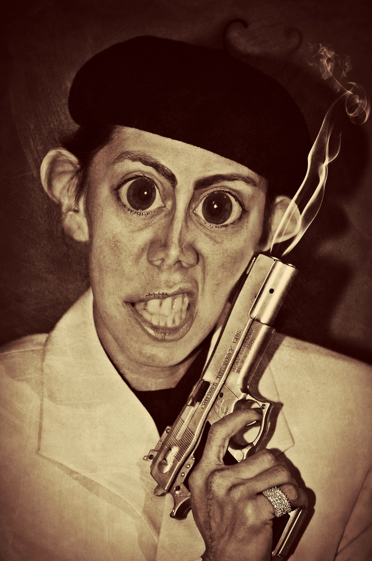 Bulletsky-Capisch-Surreal Portrait by Cristina Schek