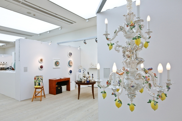 The Cynthia Corbett Gallery at COLLECT15, photo © Cristina Schek