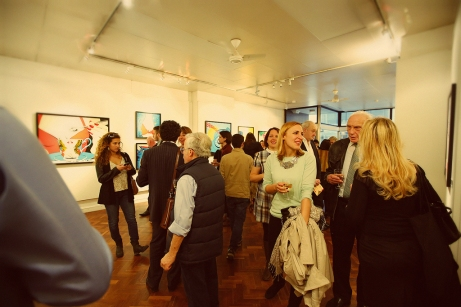 The first solo UK show of originals and limited editions by Deborah Azzopardi, held at the Gallery on Cork Street, Mayfair W1, London. Photography by Cristina Schek.
