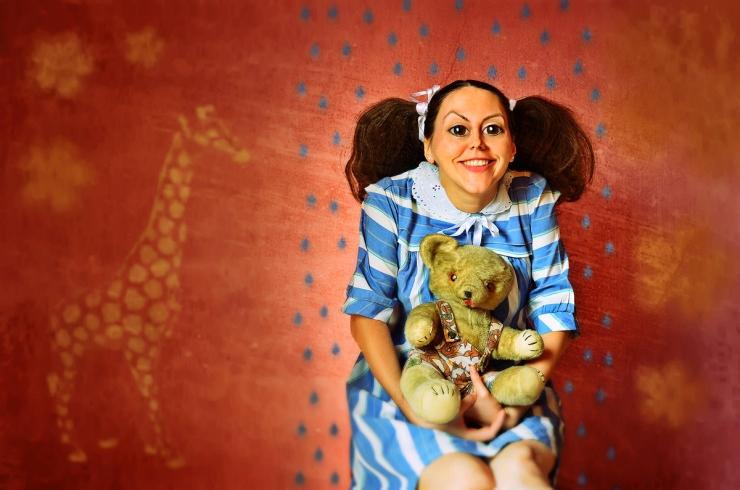 Freulein-Ursula-Surreal Portrait by Cristina Schek