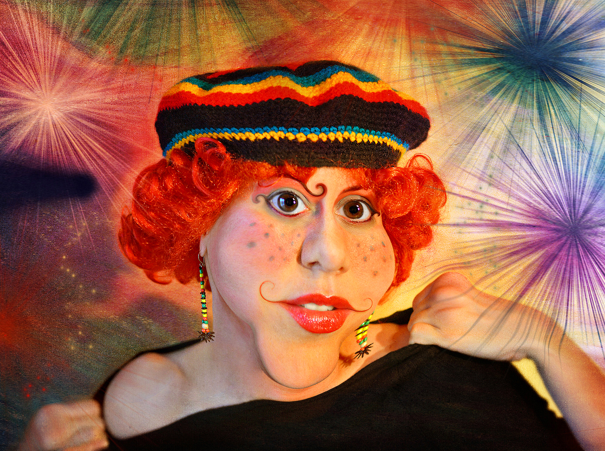 Miss Tina Quentina Tarantina-Surreal Portrait by Cristina Schek