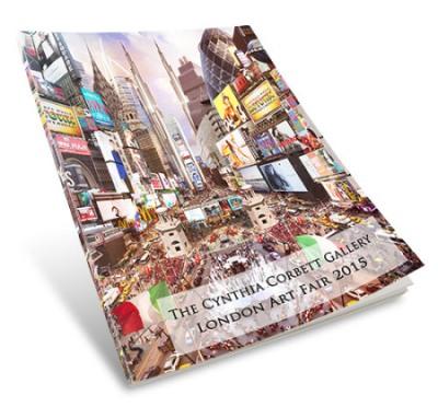 The Cynthia Corbett Gallery, London Art Fair Catalogue, designed by Cristina Schek