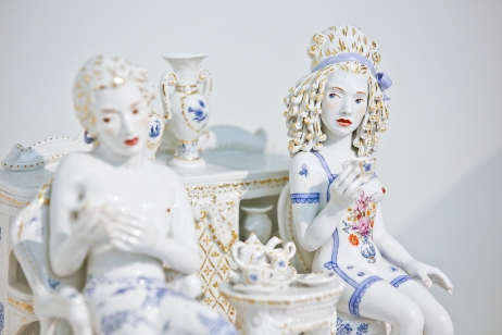 Meissen Couture collect 2015 saatchi gallery installation photography cristina schek