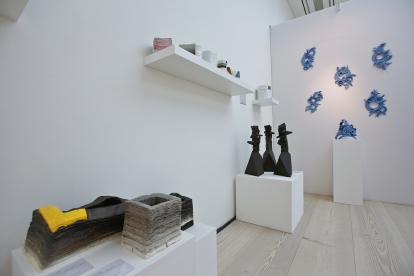 The Cynthia Corbett Gallery Installation at COLLECT15, photo © Cristina Schek