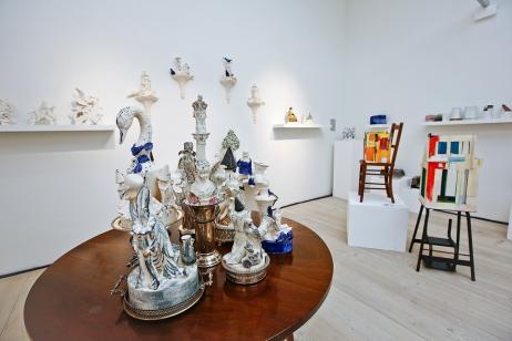 The Cynthia Corbett Gallery Installation at COLLECT15, photo © Cristina Schek