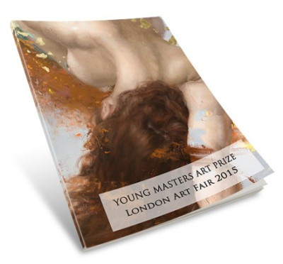 Young Masters, London Art Fair Catalogue, designed by Cristina Schek