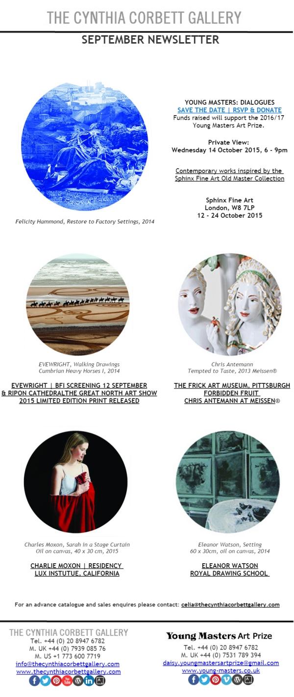 September Newsletter, Newsletter Designed by Cristina Schek