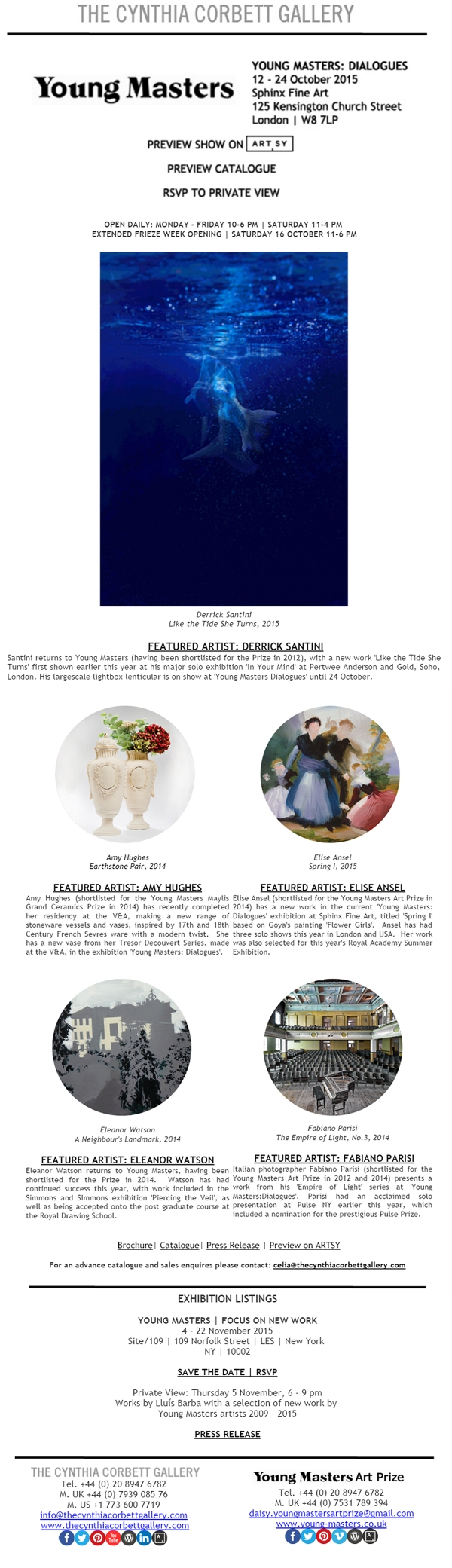 14Oct2015 - Young Masters, Newsletter Design by Cristina Schek