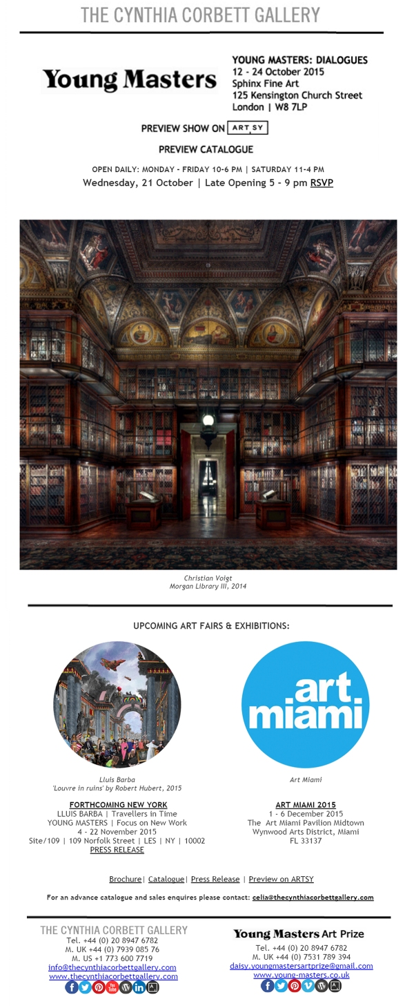 20Oct2015 - Young Masters, Newsletter Design by Cristina Schek