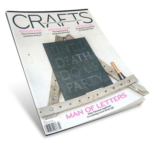 Crafts July-Aug 2015, Clare Towemey, photos by Cristina Schek