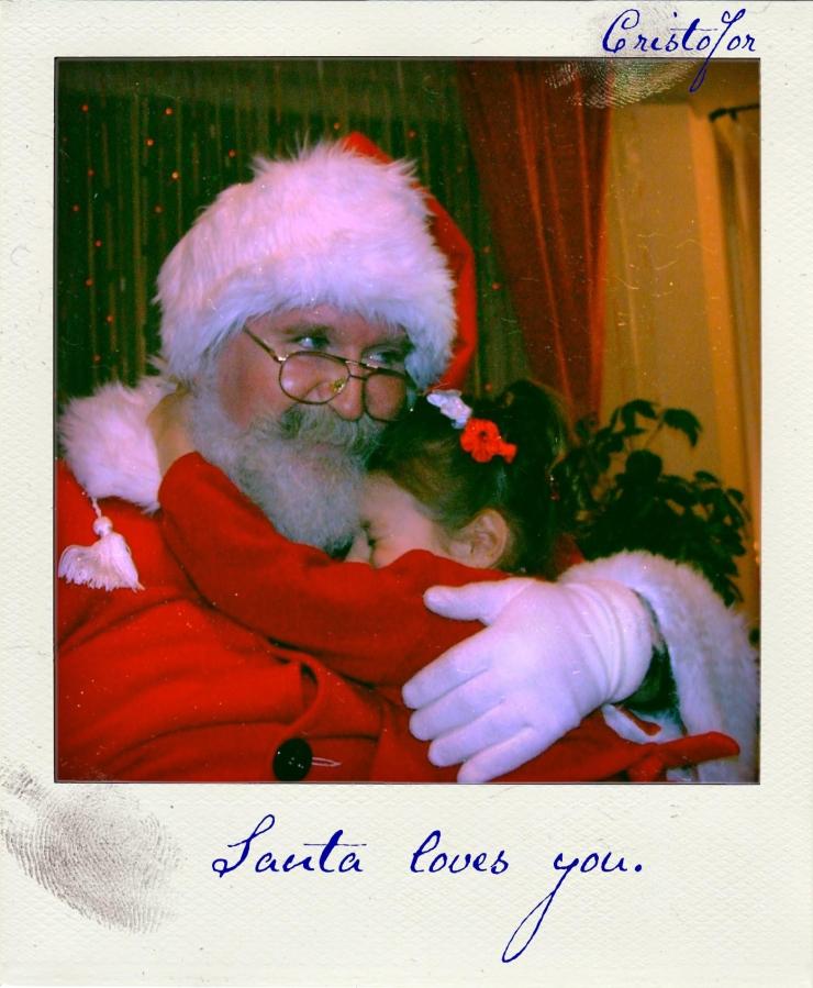 Happy Christmas, polaroid by Cristina Schek