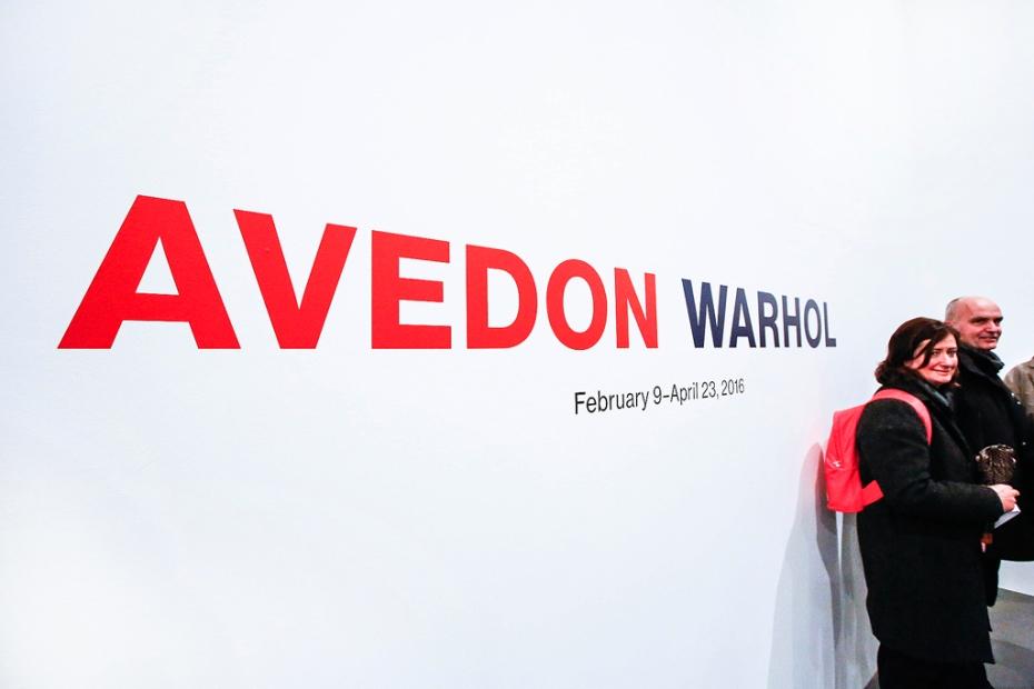 Avedon Warhol Opening Night at Gagosian Gallery, London - photo by Cristina Schek (1)