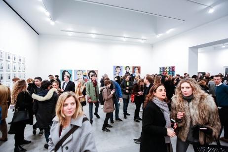 Avedon Warhol Opening Night at Gagosian Gallery, London - photo by Cristina Schek (3)