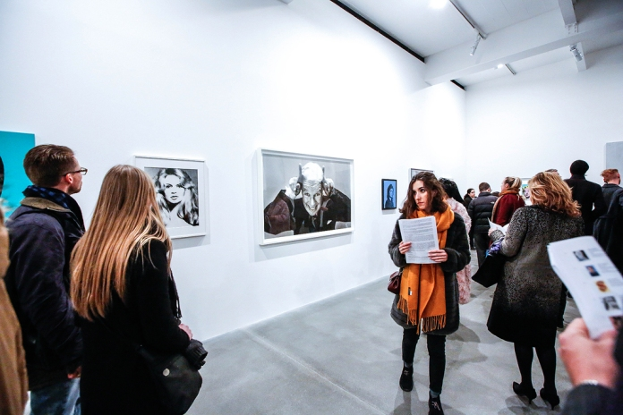 Avedon Warhol Opening Night at Gagosian Gallery, London - photo by Cristina Schek (32)