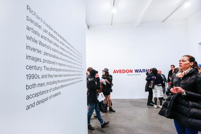 Avedon Warhol Opening Night at Gagosian Gallery, London - photo by Cristina Schek (54)