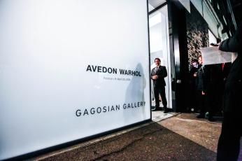 Avedon Warhol Opening Night at Gagosian Gallery, London - photo by Cristina Schek (64)