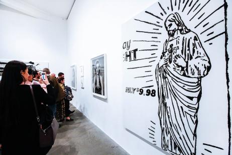 Avedon Warhol Opening Night at Gagosian Gallery, London - photo by Cristina Schek (8)