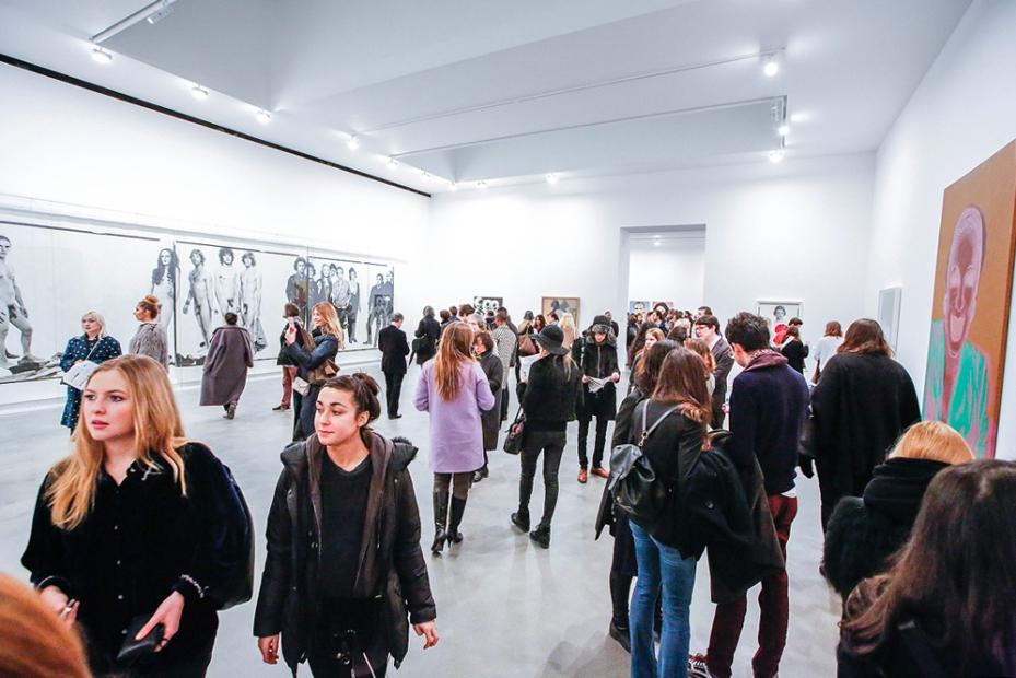 Avedon Warhol Opening Night at Gagosian Gallery, London - photo by Cristina Schek (9)