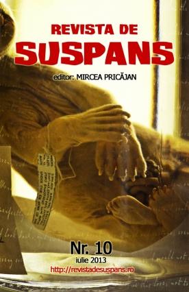 Suspense Review Magazine Issue 10, July 2013, cover design by Cristina Schek (cristinaschek.com)
