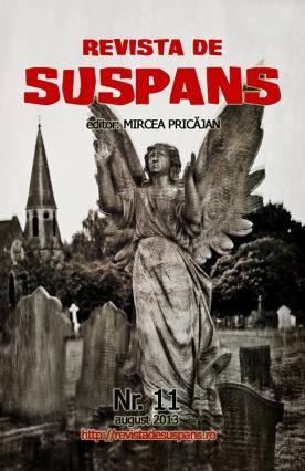 Suspense Review Magazine Issue 11, August 2013, cover design by Cristina Schek (cristinaschek.com)