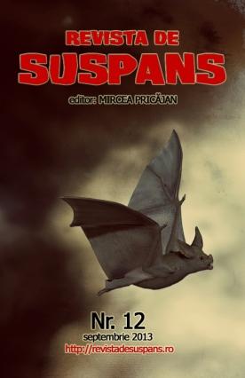 Suspense Review Magazine Issue 12, Sept 2013, cover design by Cristina Schek (cristinaschek.com)