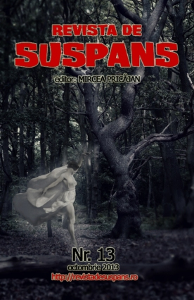 Suspense Review Magazine Issue 13, Oct 2013, cover design by Cristina Schek (cristinaschek.com)