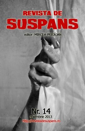 Suspense Review Magazine Issue 14, Nov 2013, cover design by Cristina Schek (cristinaschek.com)