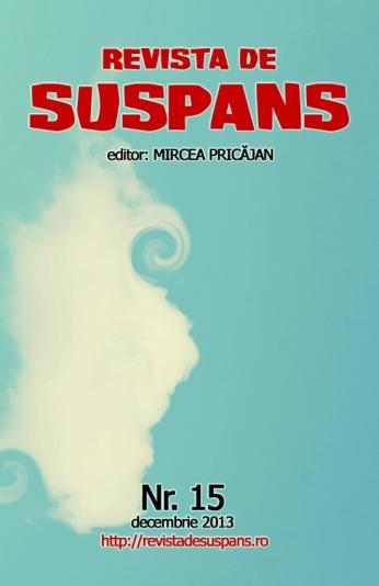 Suspense Review Magazine Issue 15, Dec 2013, cover design by Cristina Schek (cristinaschek.com)