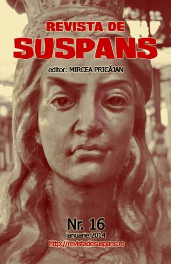 Suspense Review Magazine Issue 16, Jan 2014, cover design by Cristina Schek (cristinaschek.com)