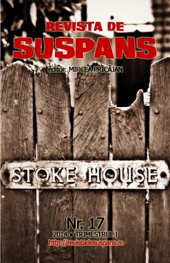 Suspense Review Magazine Issue 17, 2014 I, cover design by Cristina Schek (cristinaschek.com)