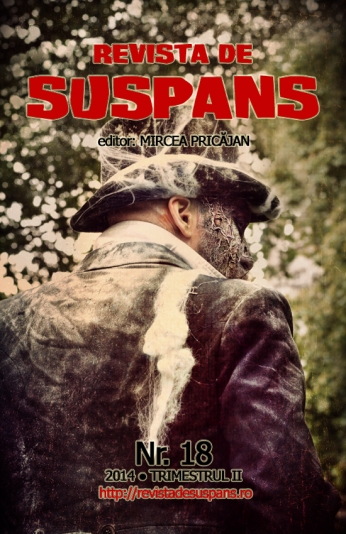 Suspense Review Magazine Issue 18, 2014 II, cover design by Cristina Schek (cristinaschek.com)