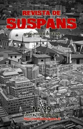 Suspense Review Magazine Issue 19, 2014 III, cover design by Cristina Schek (cristinaschek.com)