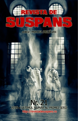 Suspense Review Magazine Issue 21, 2014, cover design by Cristina Schek (cristinaschek.com)
