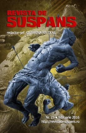 Suspense Review Magazine Issue 23, Febr 2016, cover design by Cristina Schek (cristinaschek.com)