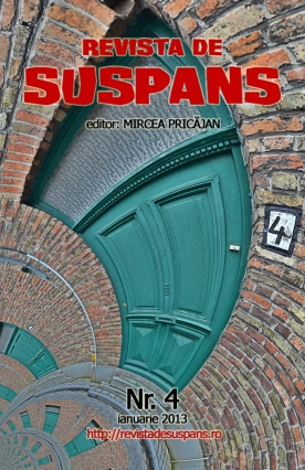 Suspense Review Magazine Issue 4, Jan 2013, cover design by Cristina Schek (cristinaschek.com)