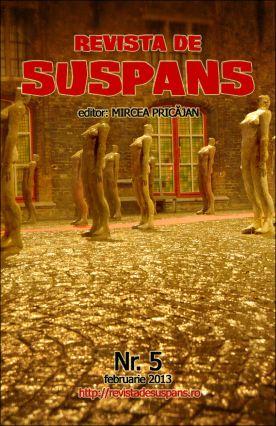 Suspense Review Magazine Issue 5, Feb 2013, cover design by Cristina Schek (cristinaschek.com)