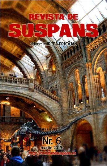 Suspense Review Magazine Issue 6 March 2013, cover design by Cristina Schek (cristinaschek.com)